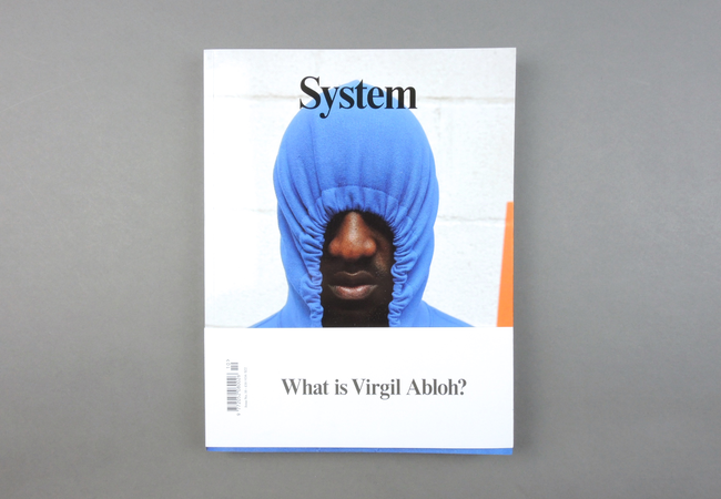 System explores with style and substance the dialogues at the heart of the global fashion industry. Its biannual magazine offers exclusive long-format conversations with fashion's most relevant, most powerful and most opinionated individuals, accompanied by portfolios created by the industry's most in-demand image-makers. Exploring and commenting on fashion's constantly shifting landscape, System is a platform for deep thoughts and real opinions – shared within the industry and, in turn, influencing the broader world.  Provenance: England. Market price: 19 Euro
