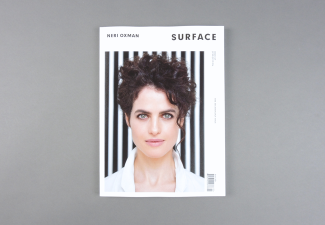 Surface is the american magazine of global contemporary design. With an international team headquartered in New York, Surface is the definitive American voice of global contemporary design. Published ten times a year, the magazine provides a rich resource to discover groundbreaking projects, emerging talents, and innovative developments in the worlds of architecture, fashion, art, and design. More than a superficial survey of trends, Surface is the substance of style.  Provenance: New York. Market price: 23 Euro