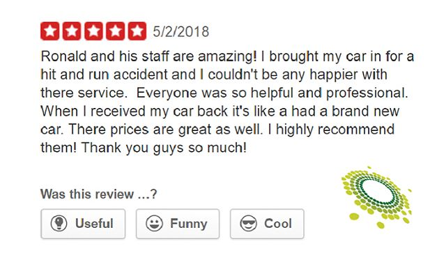 Exceeding customer expectations is what we do best! We are always striving to give our customer's 100% satisfaction after taking their car to us. . Visit us on Yelp for mobile inquiries and special deals📢 . . . #ronaldsautobody #certified #bodyshop #servicecenter #oem #beverlyhills #culvercity #losangeles #westwood #westla #westhollywood #hollywood #marinadelrey #venicebeach #southcentral #dtla #ktown #brentwood #santamonica #pacificpalisades #porsche #boutique #yelp #satisfaction
