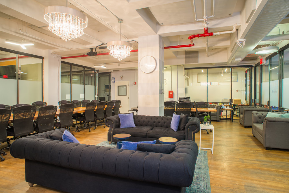 BOND Collective office space and coworking available in Manhattan