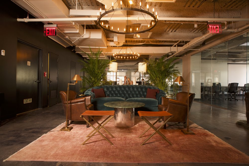 BOND Collective Financial District location with beautifully designed office space