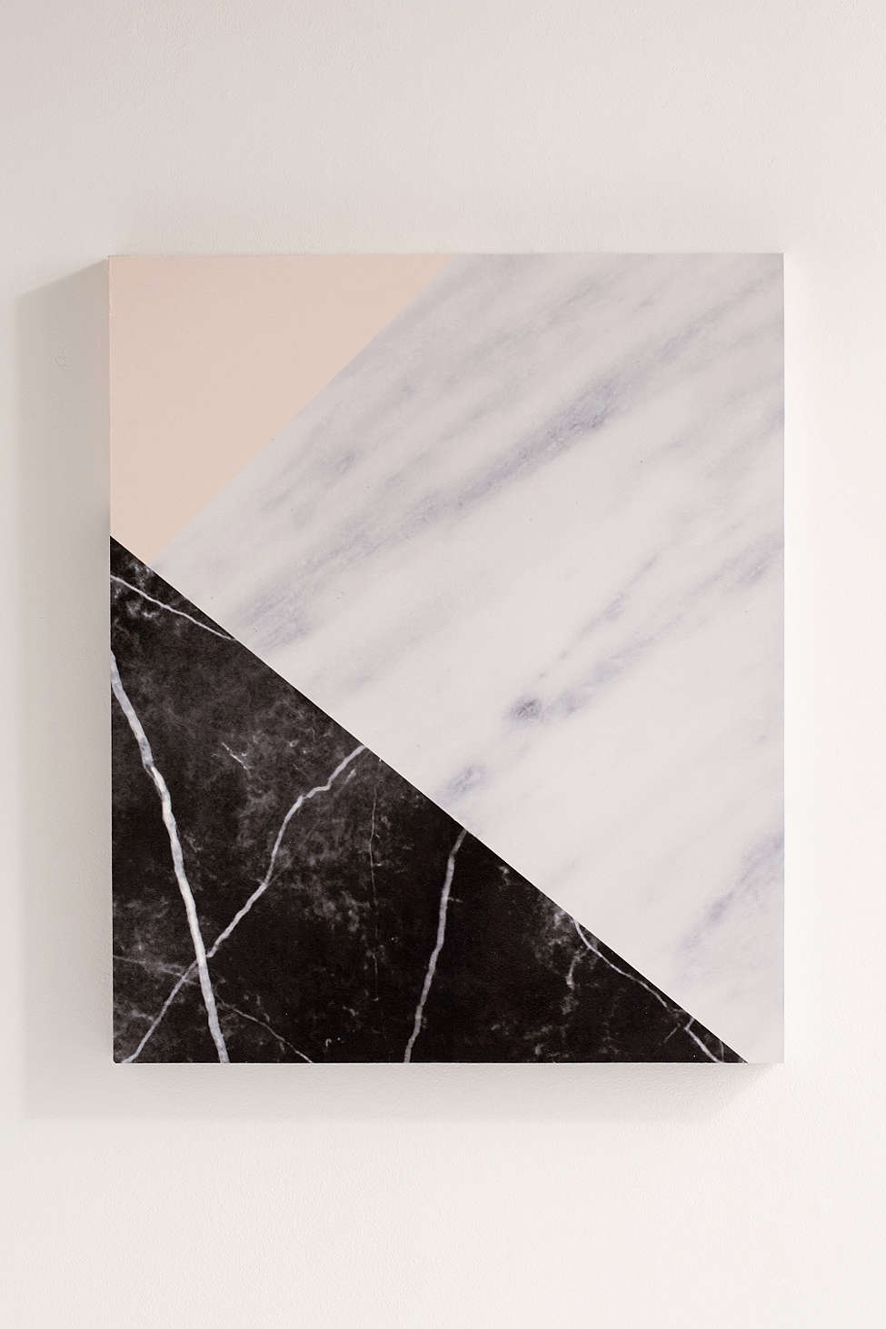 Emanuela Carratoni For DENY Marble Collage Canvas Wall Art