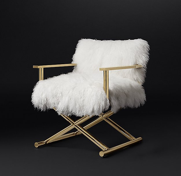 Altman Tibetan Wool Chair