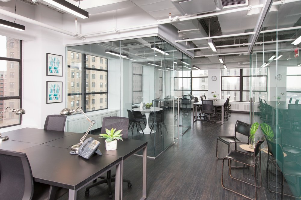 This is one of the many light filled kitchen located at 60 Broad in the Financial District, Manhattan. This Bond Collective space offers beautiful affordable shared spaces, coworking space, conference space and private offices.  We also have  BOND Collective  locations in Gowanus, Brooklyn and at 55 Broadway in the Financial District.  Truly the best coworking option in all of Manhattan.