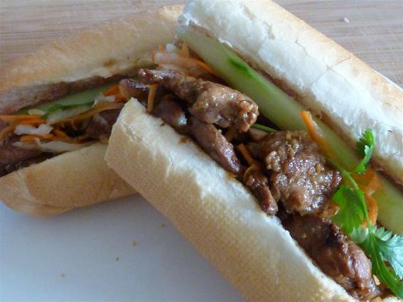 Lotus Vietnamese Sandwiches
