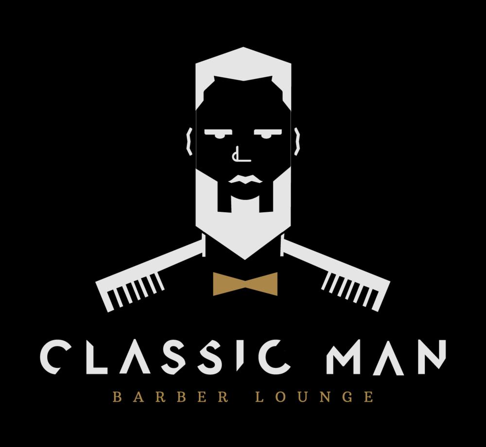 Classic Man Black Background Logo.png
