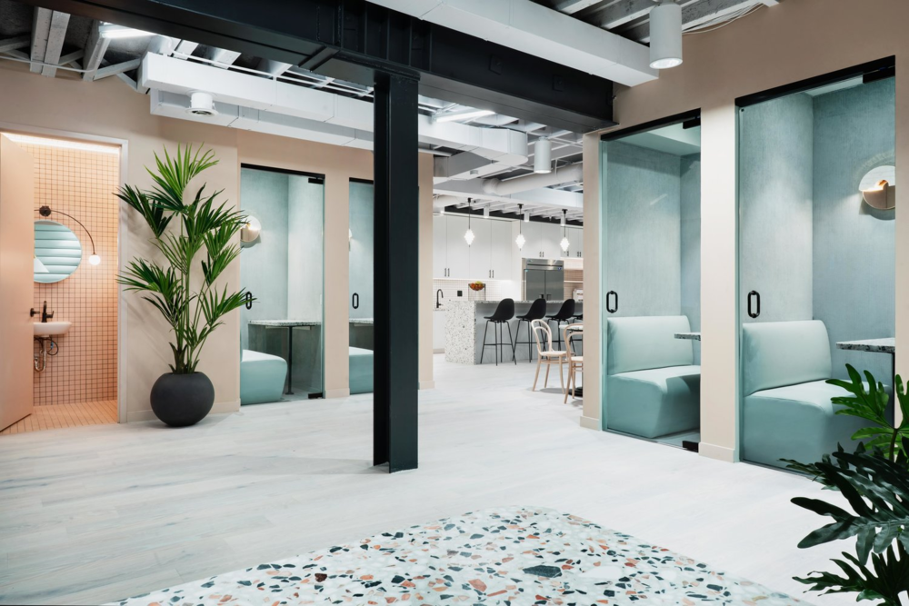modern coworking space that is ideal for creating business strategy