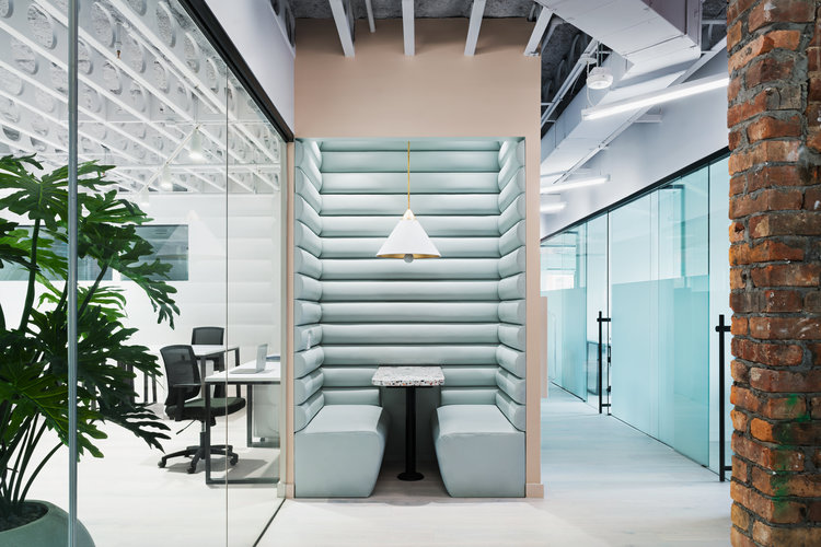 a variety of coworking spaces at Bond Collective that can be used after an office move