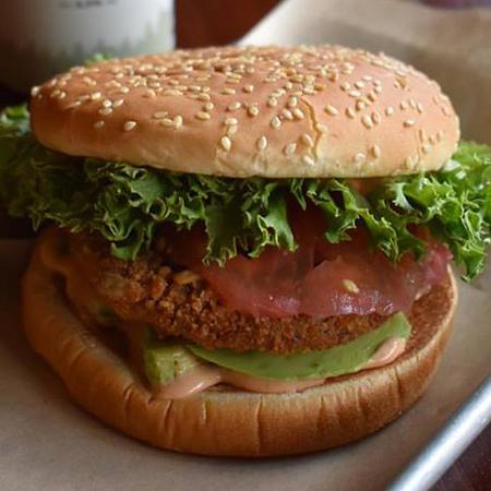 Jolene (vegan) Field Roast® Sunflower Country-Style Vegan Patty, Avocado Slides, Pickled Red Onions, Lettuce, Tomato & Vegan Texas Lemon Sauce. Add Vegan Cheese for $1.75. $8.5