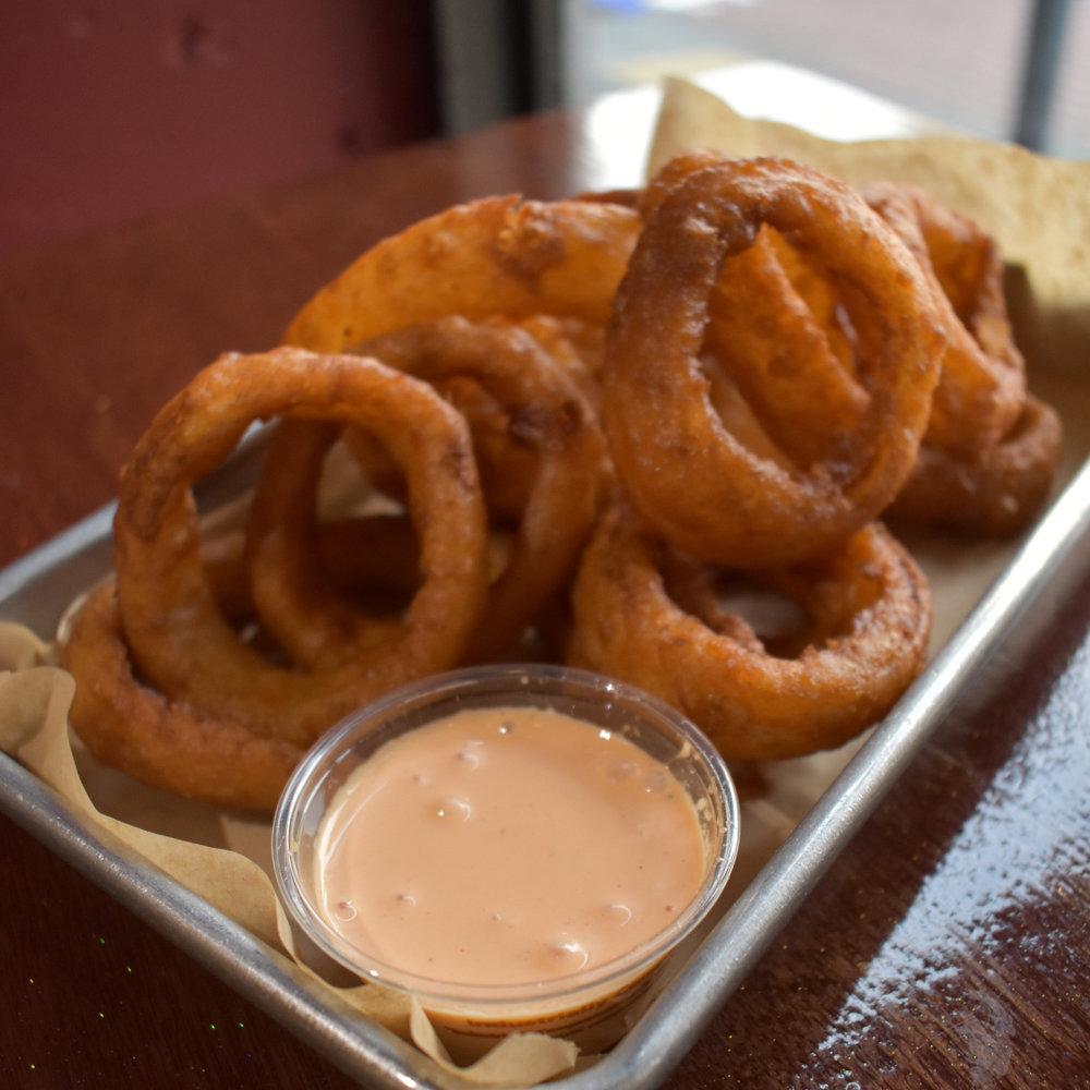 Onion Rings   $4.75