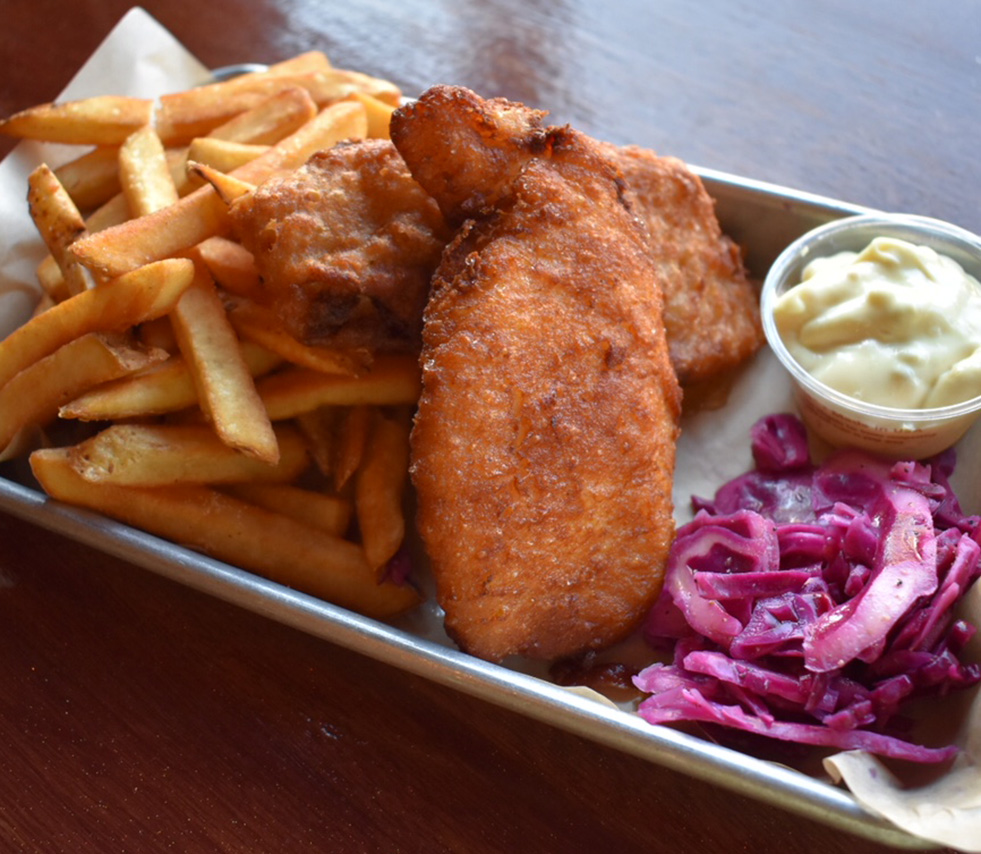 Fish n Chips   2 Deep Fried Cod Fillets $11.75 Add an additional Fillet for $3