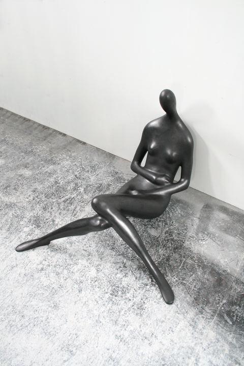 Emil Alzamora, Force Majeure,2015,Bronze 32 1/2 x 40 1/2 x 43 in 83 x 103 x 110 cm