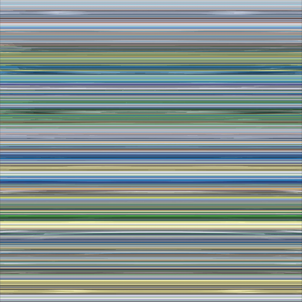 Codex 29, 2016, Ultrachrome on aluminum, 64 x 64 in (111.76 x 111.76 cm)