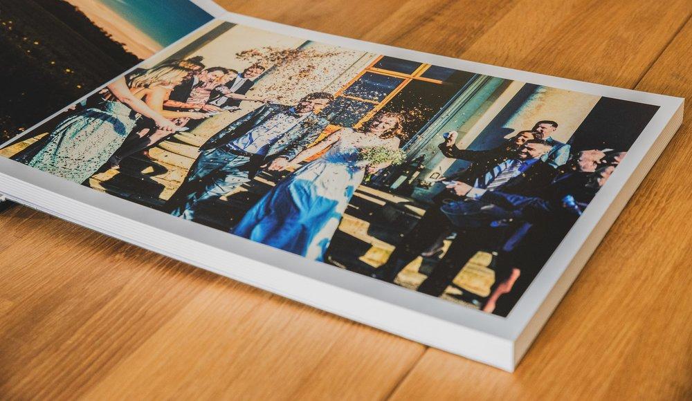 Wedding & Family Albums 40x30 Inch Inside 2 | Hampshire Wedding Photographer