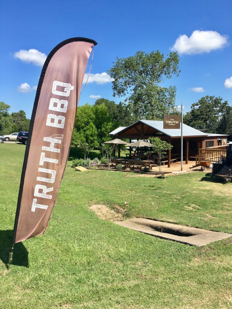 Truth Barbeque  - 2990 US 290Brenham, TX #46 on the TX BBQ PassportSeventh stop