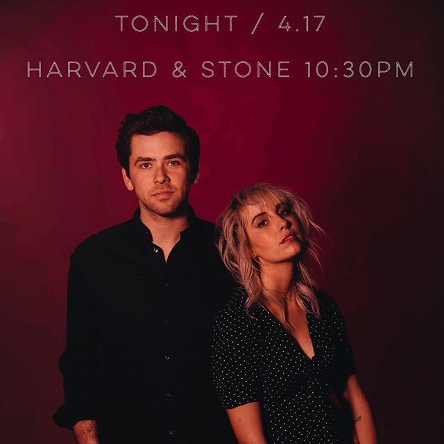 We're so excited to be back at @harvardandstone tonight! 10:30pm, FREE! Our last show until June - don't miss it! 🍒 📸 @jamiearrigo