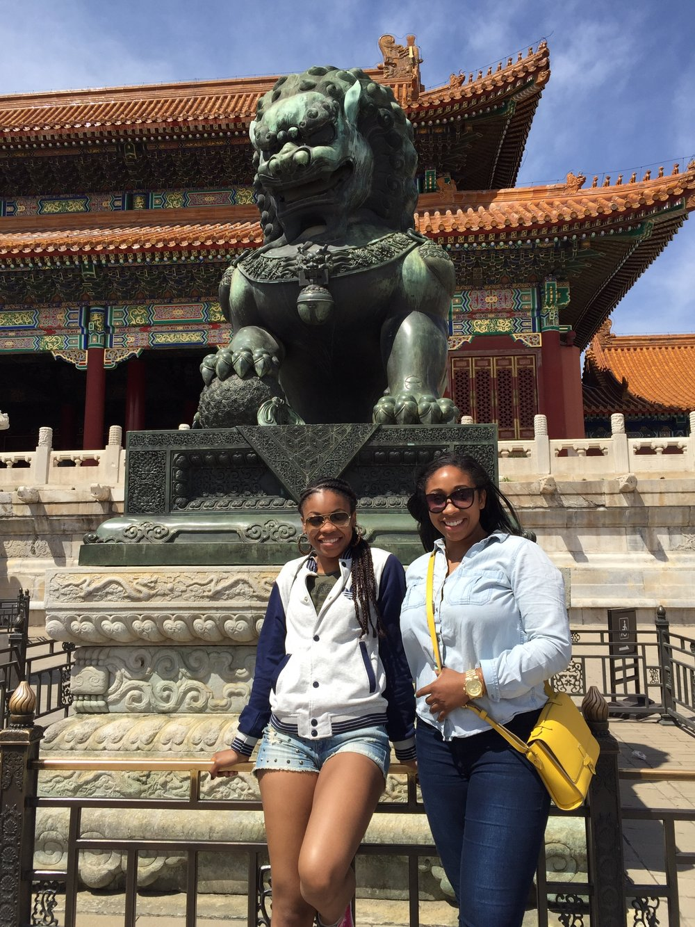 Guardian Lion at the Forbidden City