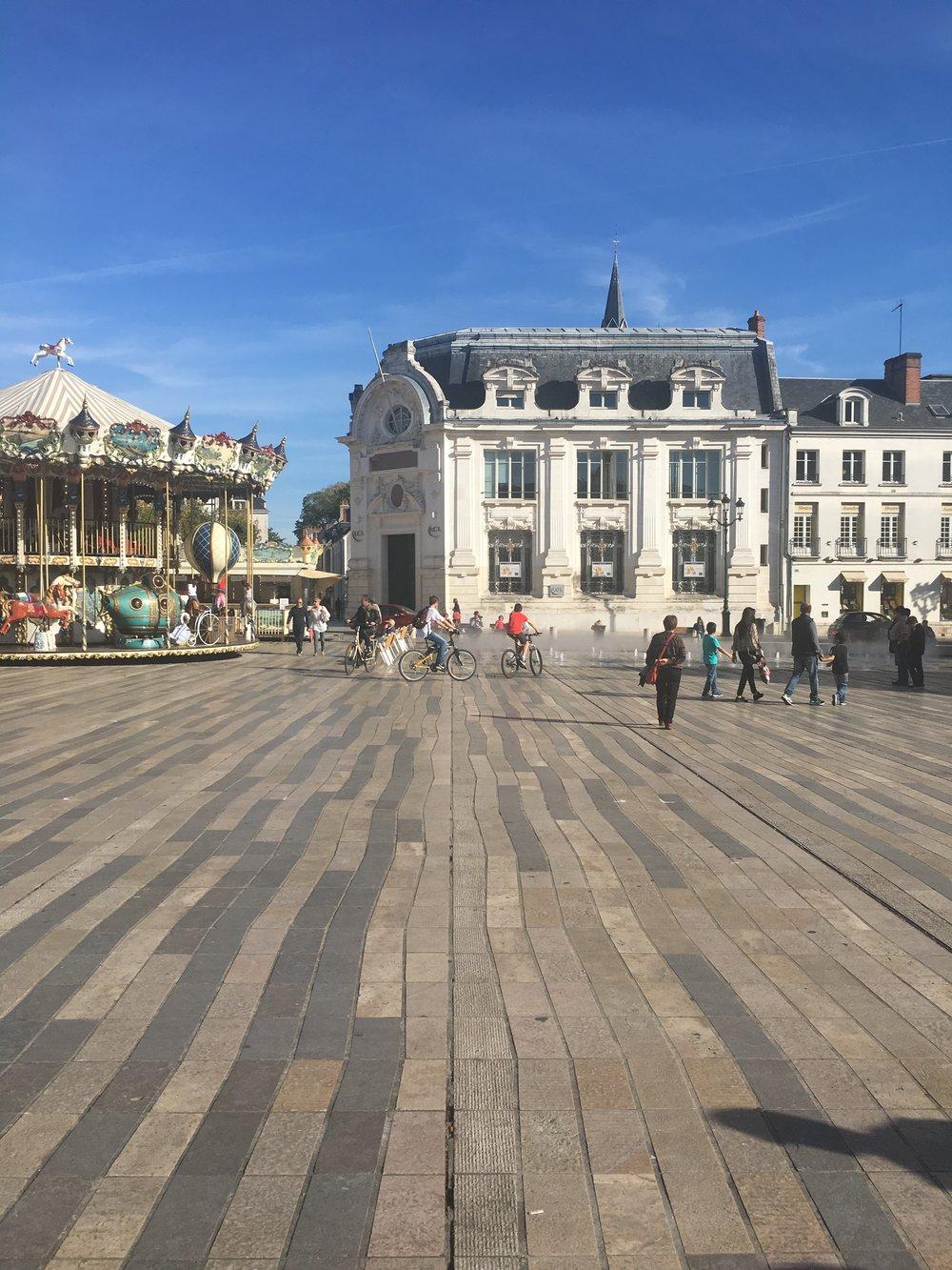 Place du Martroi - Orleans, France