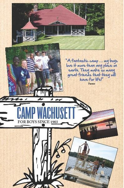 Cover of 2019 Camp Brochure.