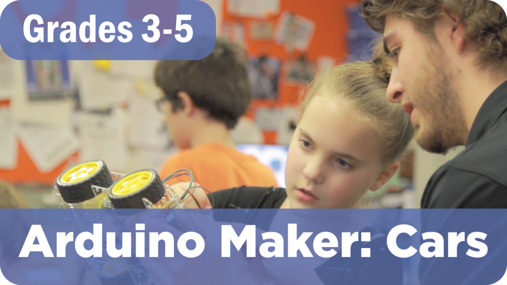 Arduino Maker: Cars Summer Camp