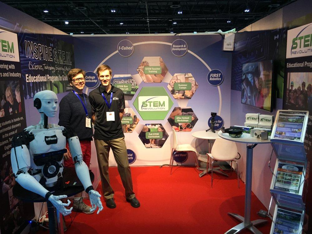 GESS Dubai STEM Revolution Booth