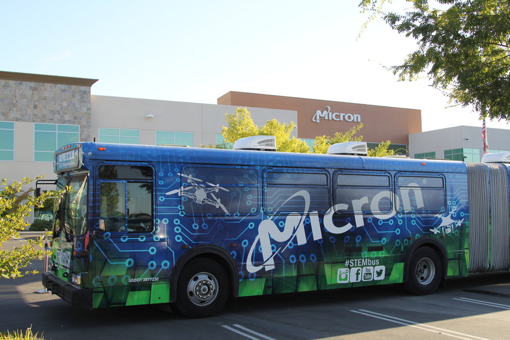 Micron STEM Bus West Coast Tour