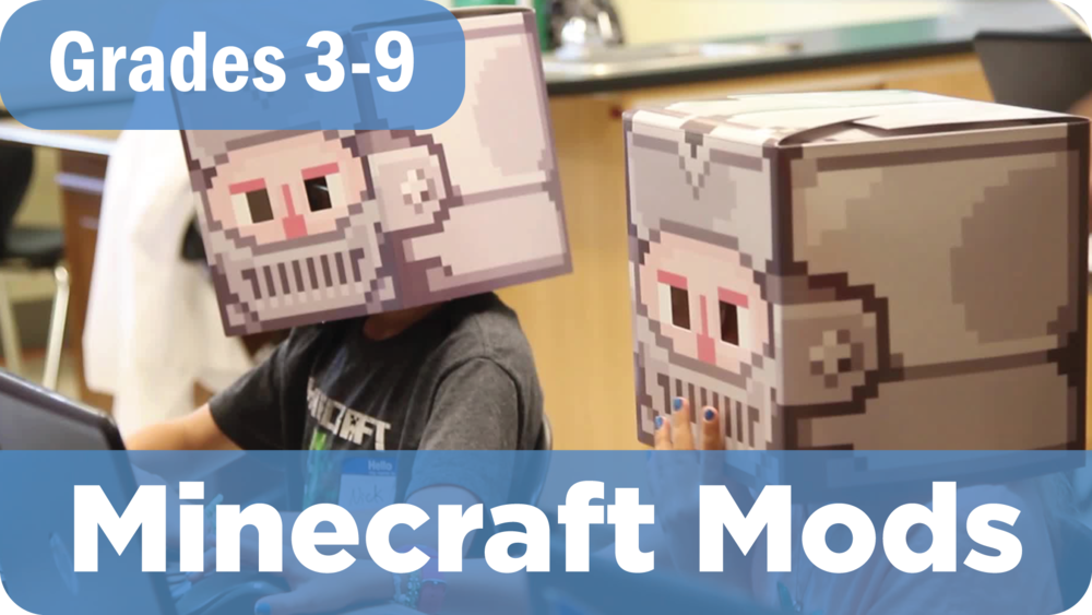 Minecraft Mods Summer Camp