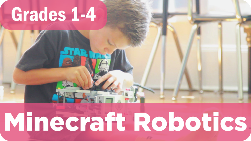 Minecraft Robotics Summer Camp