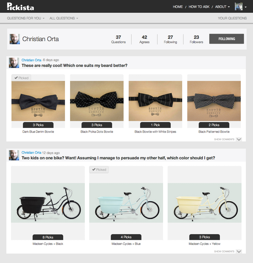 bowties bicycles
