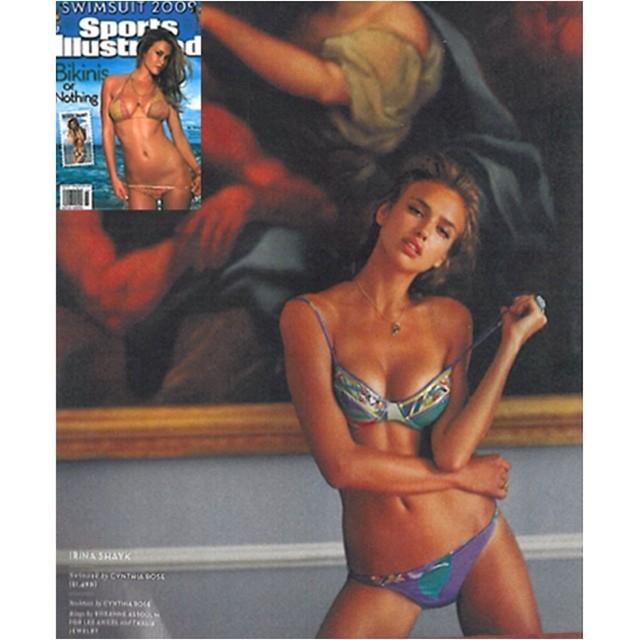 Sports Illustrated - Irina Shak