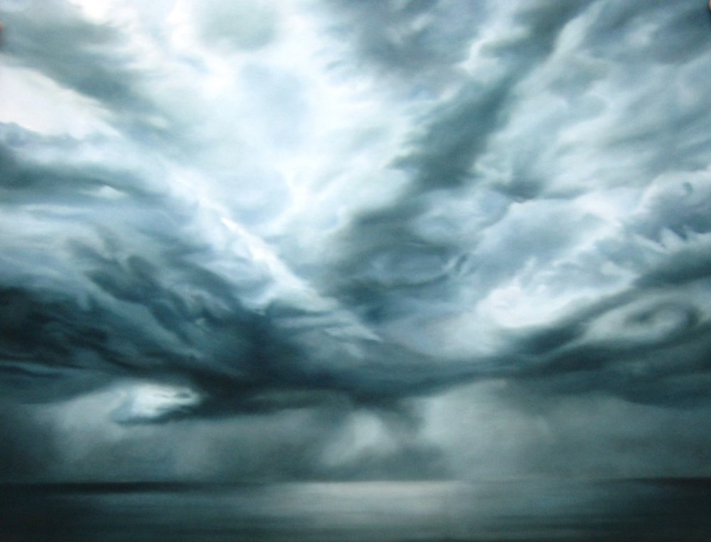 Zaria Forman- Untitled #57 Cloudscape Series  i.s-50x66.JPG