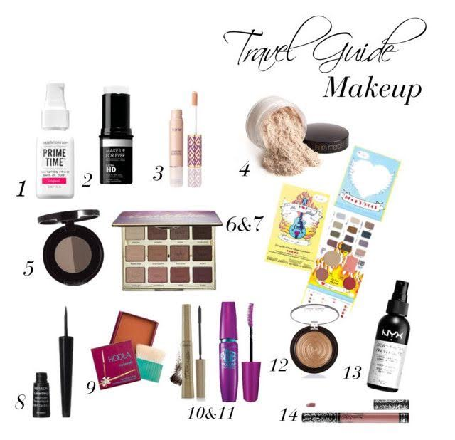 TRAVEL MAKE UP - Read More on what makeup I'll be taking with me to Europe!