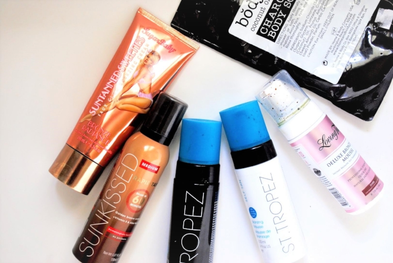 SELF TANNING - The BEST and WORST tanning products I've tried! Read More