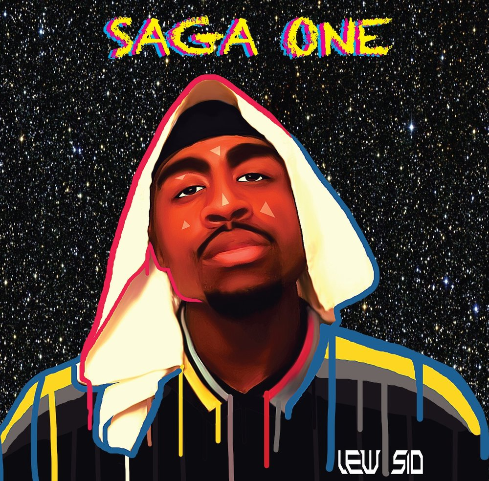 SAGA ONE EP - Lew's 1st digital release, a masterpiece, led by his anthem single
