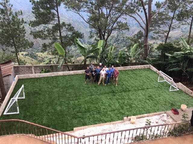 New Soccer Field For The Creche!