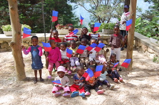 Copy of Flag day at the crèche