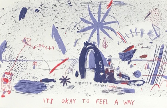 "Olivia Nevins Carbins ""It's okay to feel a way"""