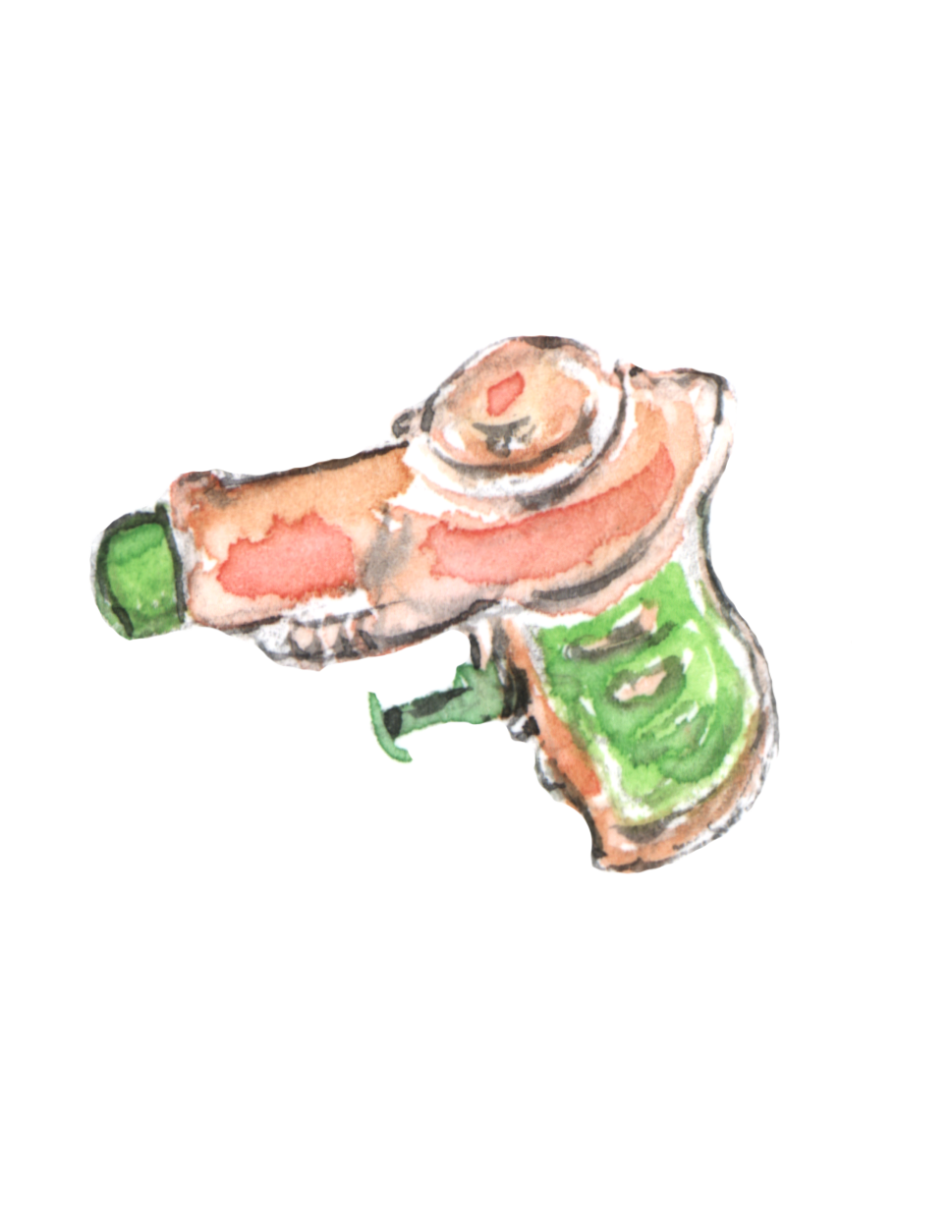 Puppy squirt gun