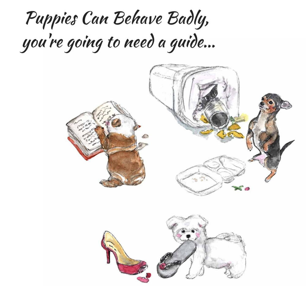 Training a puppy isn't for the faint of heart, you're going to need a guide.