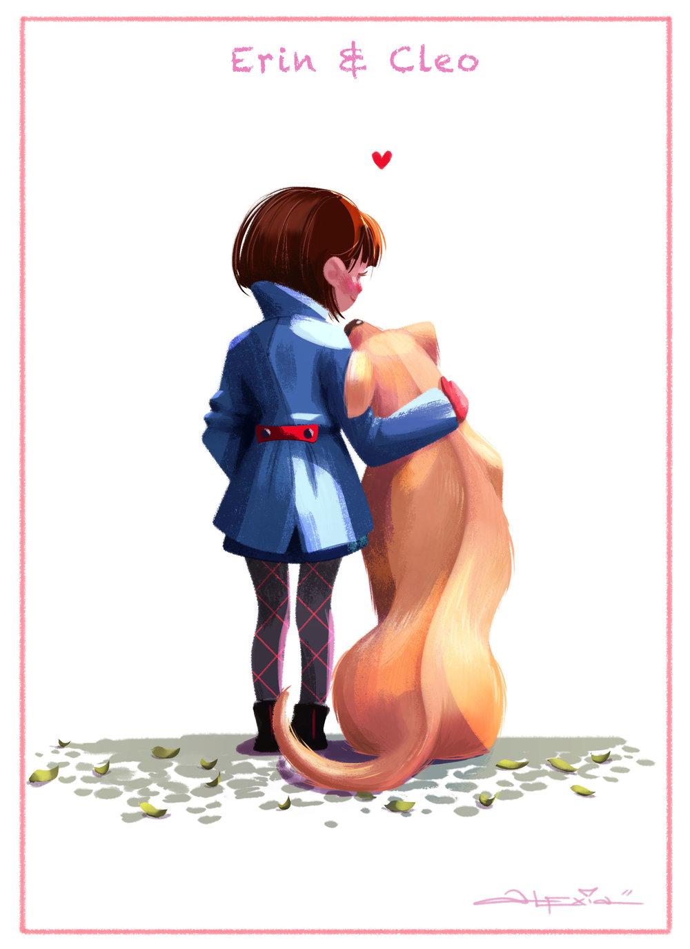 Erin & Cleo