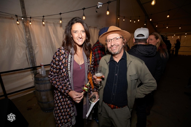 Emily Hutto and Dan Rabin, photo by  The Brewtography Project