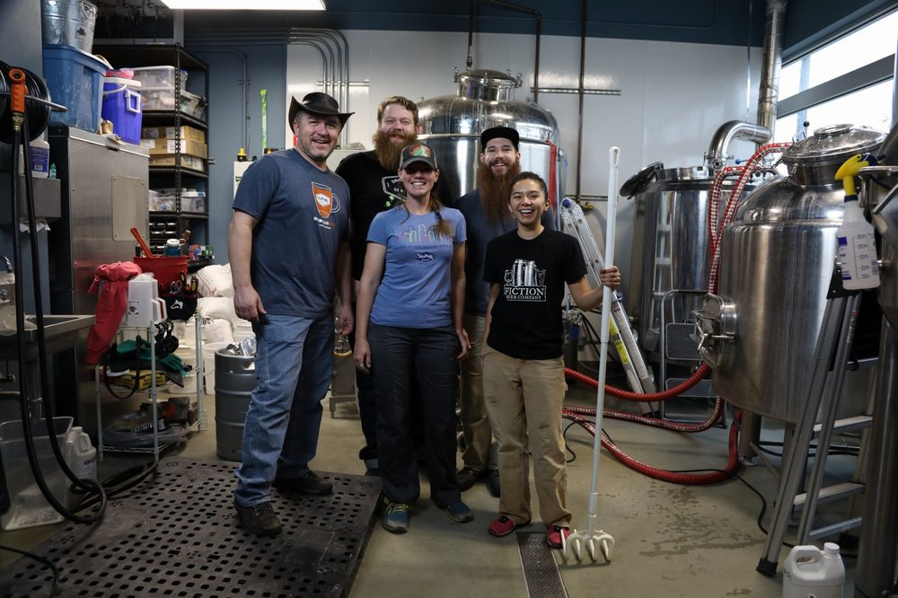 Stranger Than Fiction brew day at Fiction Beer Company, photo courtesy The Brewtography Project