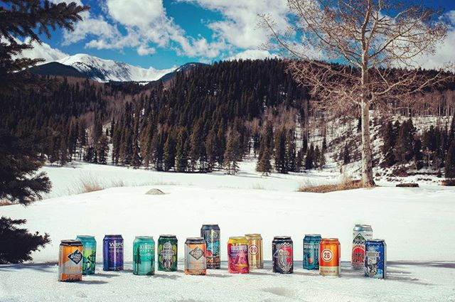 We're spending Colorado Craft Beer Week in the backcountry with this tribe. Cheers to The State of Craft Beer! 📷: @colinbridge