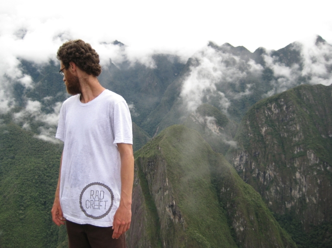 RadCraft Tshirt at Machu Picchu.JPG