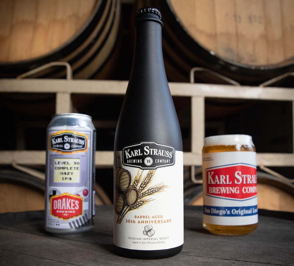 Karl Strauss Celebrates 30th Anniversary With City Proclamation, Beer Releases & Retro Merch
