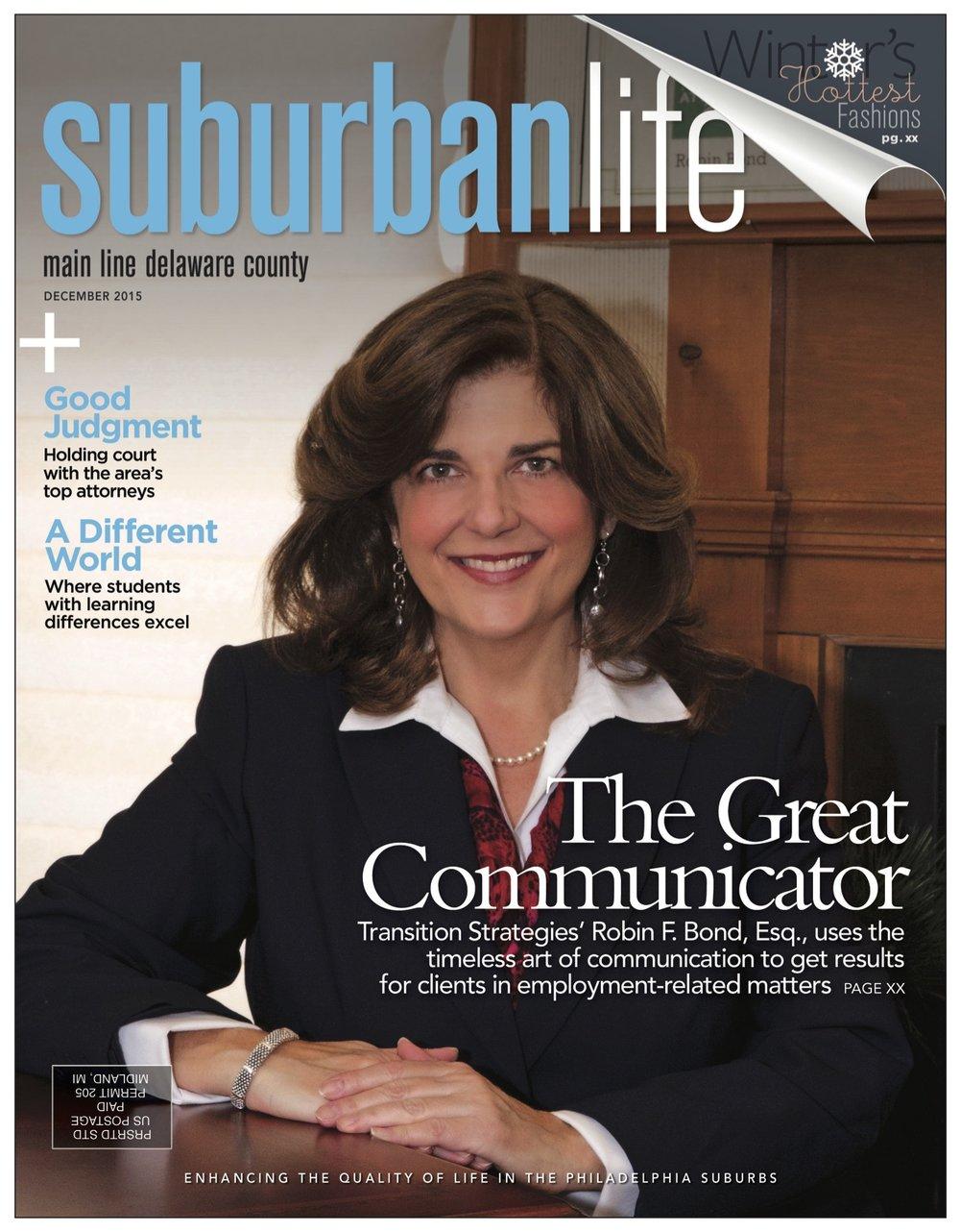 Robin's Suburban Life Cover 2015