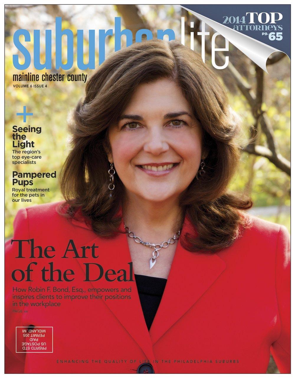 Robin's Suburban Life Cover 2014