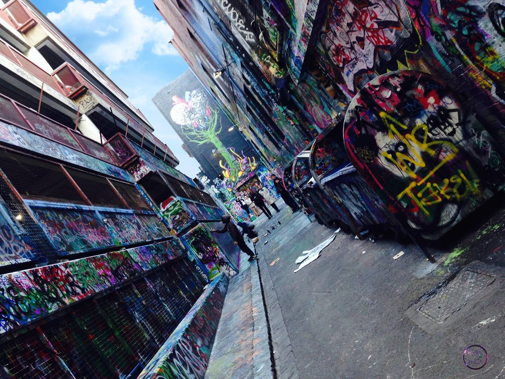Hosier Lane- Melbourne, Australia