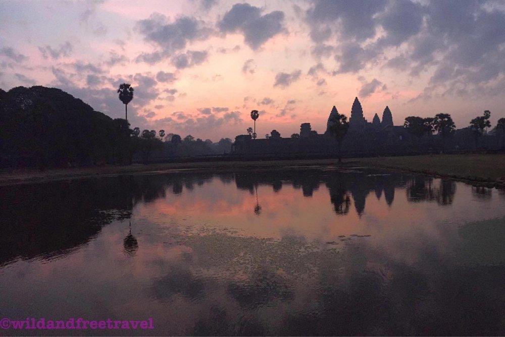 Angkor Wat Sunrise- Siem Reap, Cambodia