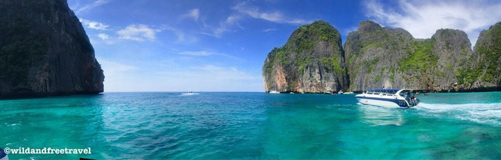Maya Bay- Phi Phi Islands, Thailand